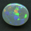 LIGHTNING RIDGE BLACK OPAL 12.4X10.6 3.60CT