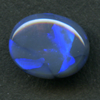 LIGHTNING RIDGE BLACK OPAL L8.3X6.8 1.01CT