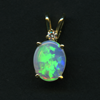 PENDANT – PO10X8/OVAL.92CT/14y/.05CTD