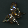 QUEENSLAND BOULDER OPAL CARVING - OCTOPUS 41.24CT