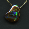 QUEENSLAND BOULDER OPAL FREEFORM 15.04CT