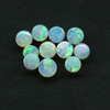 WHITE OPAL 4MM BAG3 GREENS