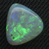 WHITE FREEFORM .02CT COOBER PEDY OPAL