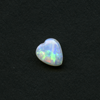WHITE HEART CUT OPAL 7.5X6.5