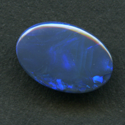 LIGHTNING RIDGE BLACK OPAL 9.8X6.6 .66CT