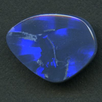 LIGHTNING RIDGE BLACK OPAL FREEFORM 6.20CT